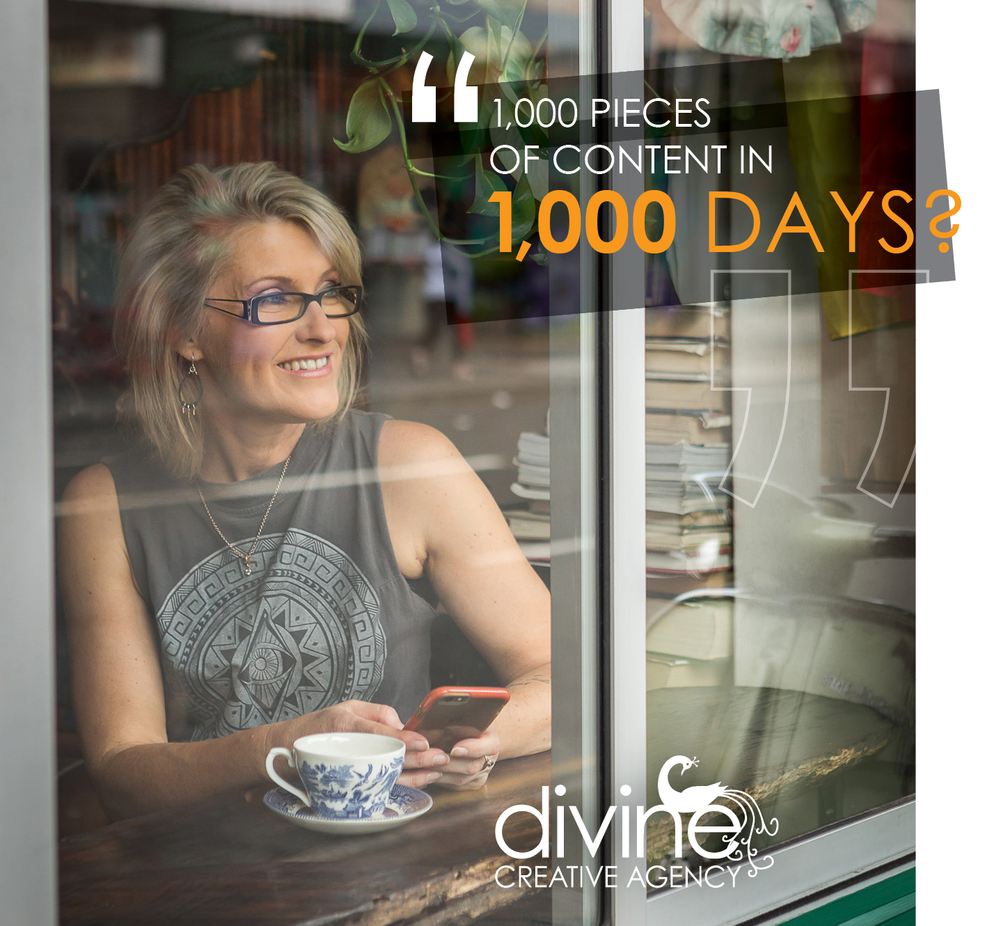 Do you think you could create 1,000 pieces of content in 1,000 days?
