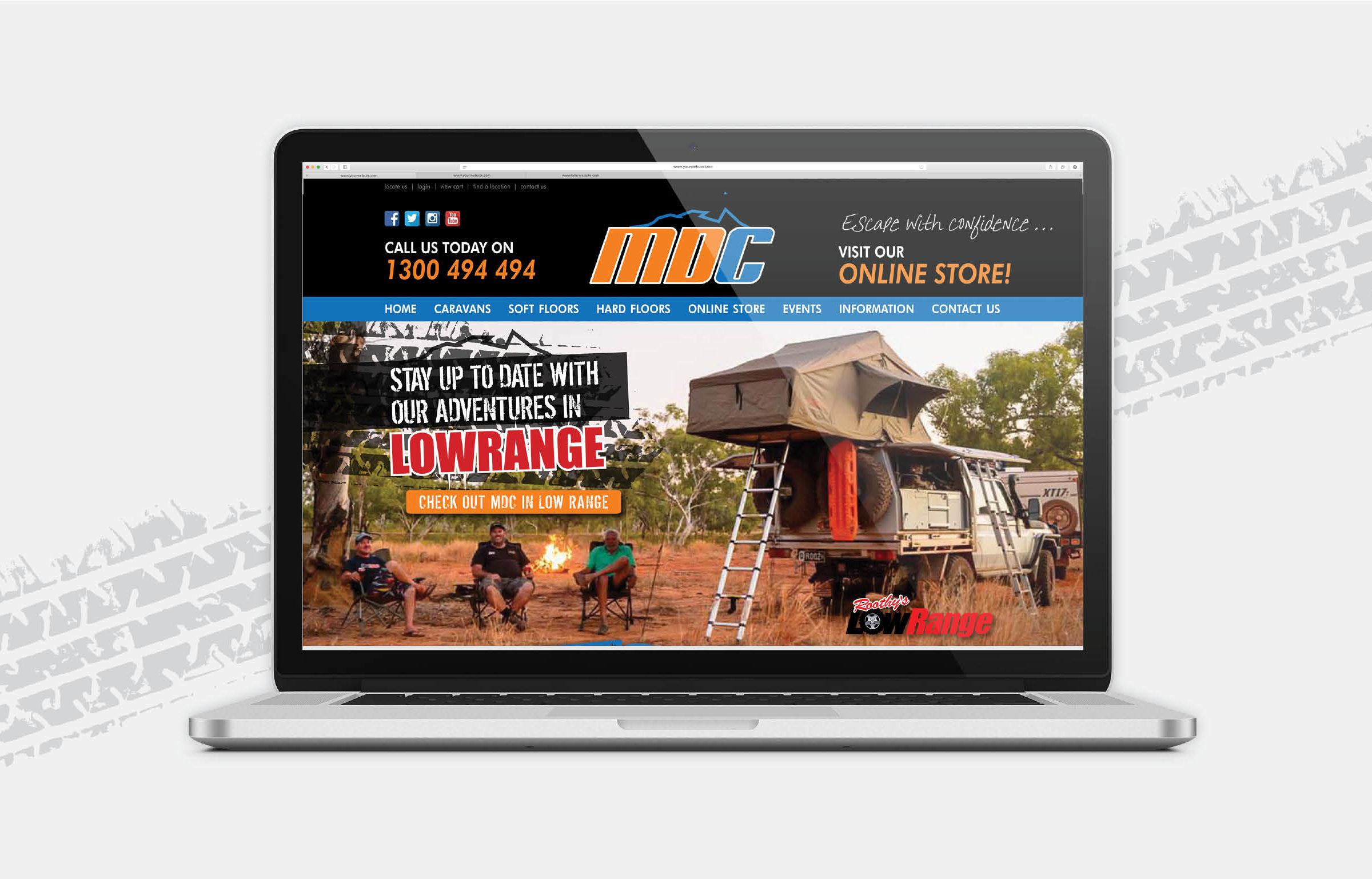 MDC Camper Trailers & Offroad Caravans – Divine Creative